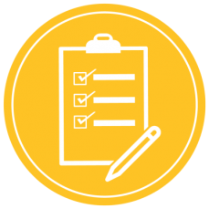 Apply Form Icon (Yellow)